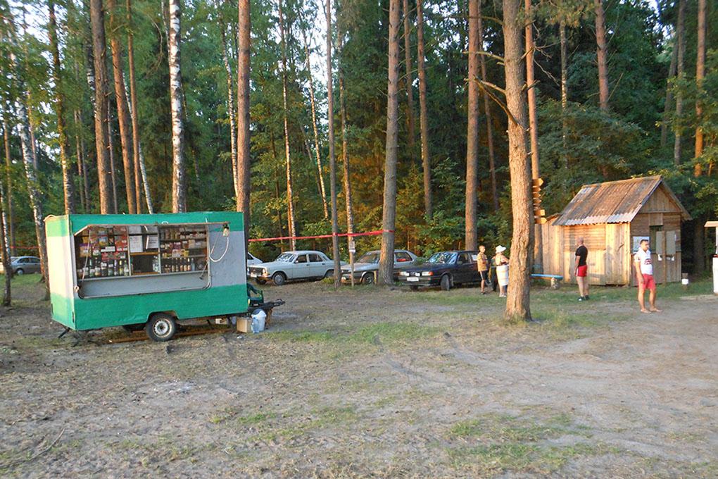 Зона отдыха Панская Купальня - recreation area Panska Kupalnya