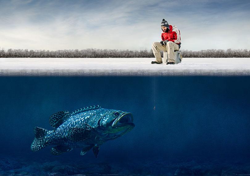 Пункты продажи путевок на платное рыболовство на озере Селява