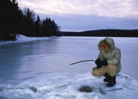 Акция на приобретение путевок на зимнюю рыбалку